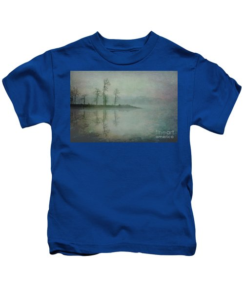 Misty Tranquility Kids T-Shirt