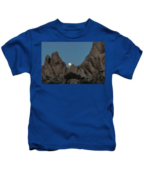 Moonrise In The Sight Kids T-Shirt