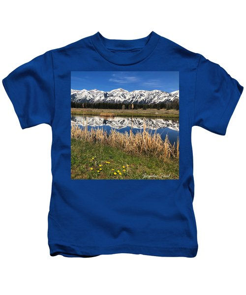 Mountain Reflection Kids T-Shirt