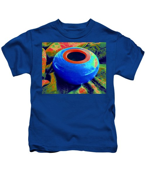 My Blue Bowl -  The  Gift Kids T-Shirt
