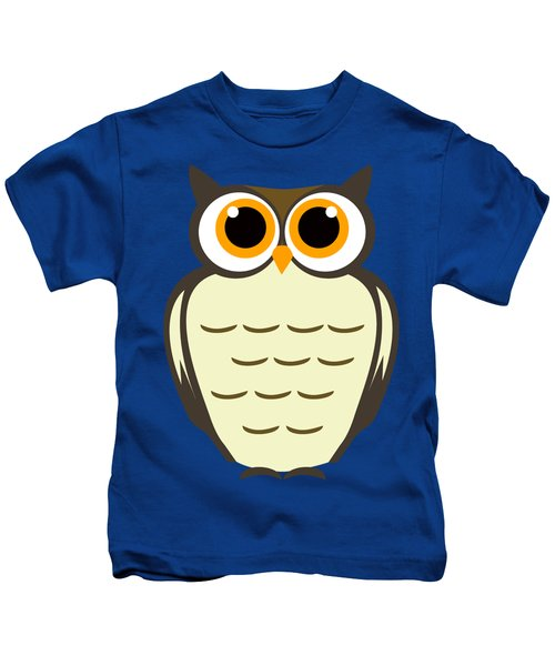Owl Illustration Kids T-Shirt