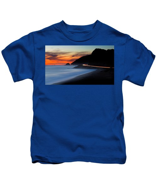 Pacific Coast Highway Kids T-Shirt