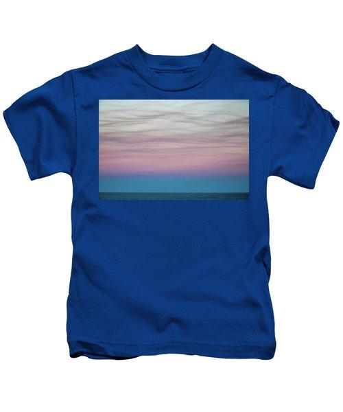 Pastel Clouds Kids T-Shirt