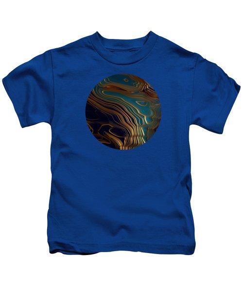 Peacock Ocean Kids T-Shirt