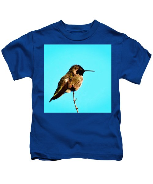 Kids T-Shirt featuring the photograph Perfect Posing by Judy Kennedy