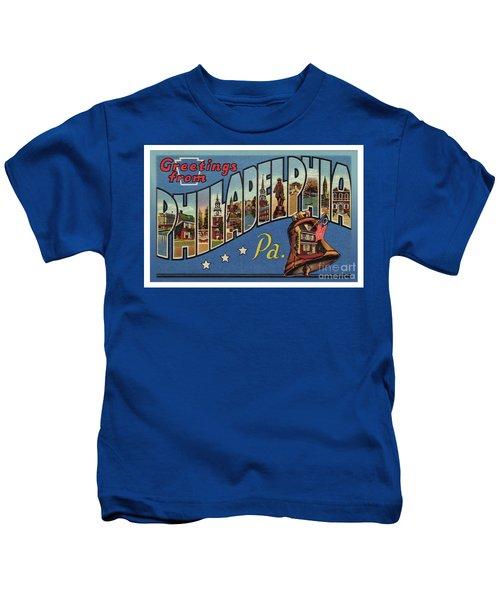 Philadelphia Greetings Kids T-Shirt