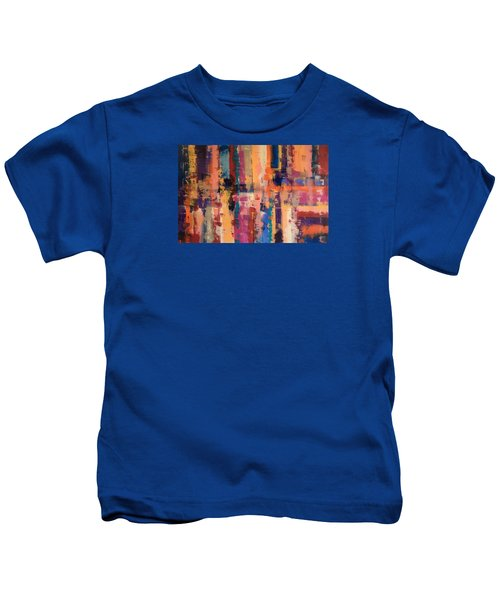 Playful Colors Iv Kids T-Shirt