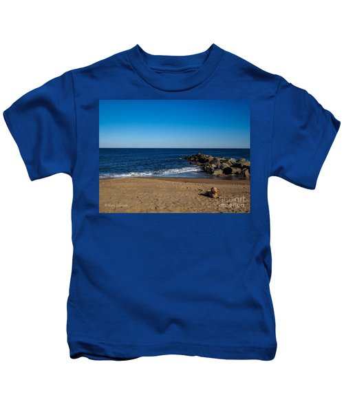 Plum Island Scene Kids T-Shirt