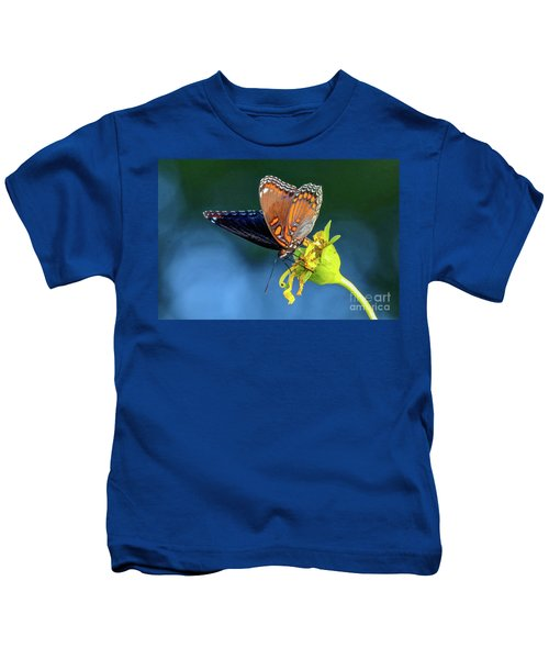 Red-spotted Purple Butterfly Kids T-Shirt