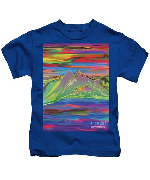 Santa Fe Sunset Kids T-Shirt