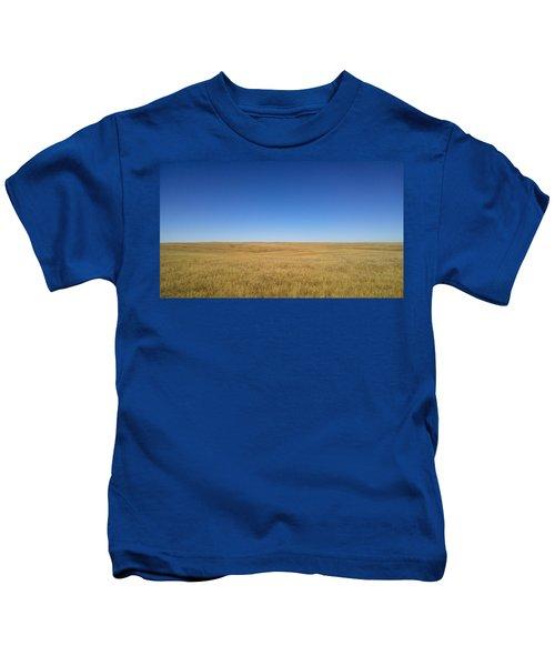 Sea Of Grass Kids T-Shirt
