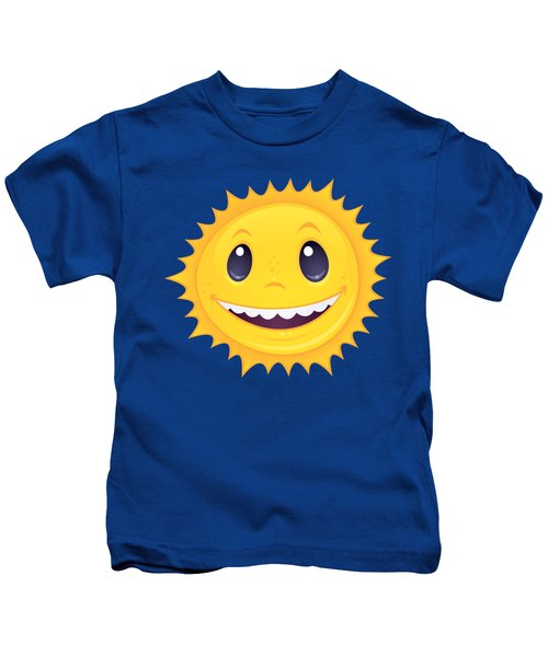 Smiley Sun Kids T-Shirt