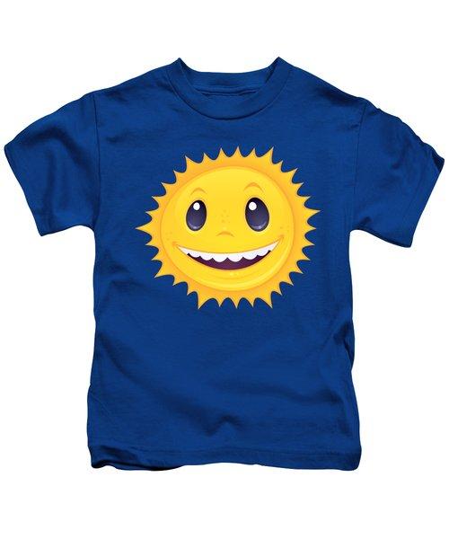Smiley Sun Kids T-Shirt