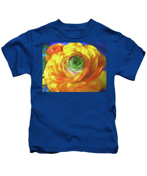 Soaking In Sunshine 7 Kids T-Shirt