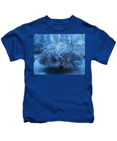 Spring Snow Kids T-Shirt