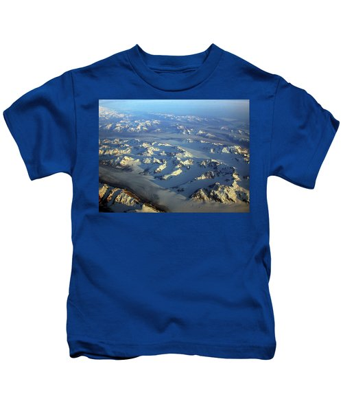 Sun Kissed Glaciers Kids T-Shirt