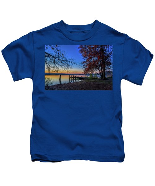 Sunrise On The Patuxent Kids T-Shirt