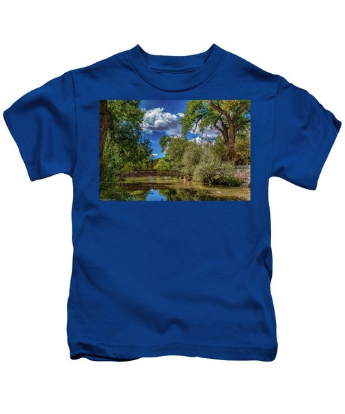 Sunrise Springs Kids T-Shirt