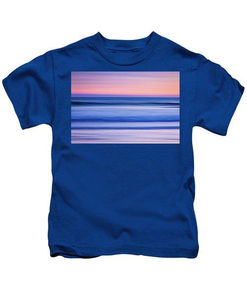 Sunset Abstract Kids T-Shirt