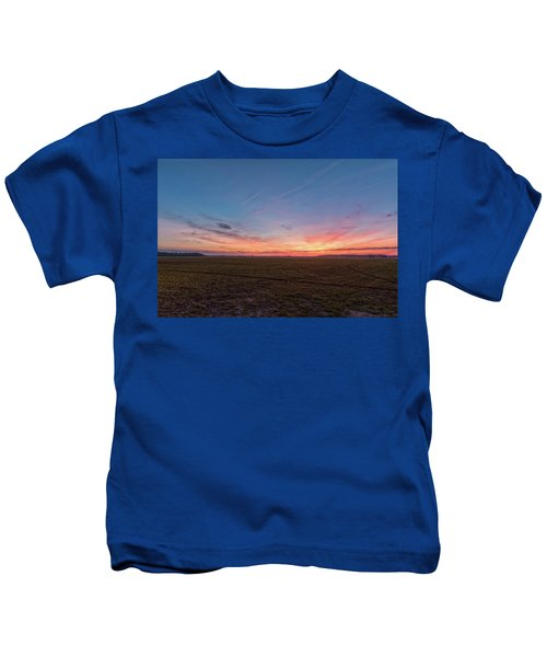 Sunset Pastures Kids T-Shirt