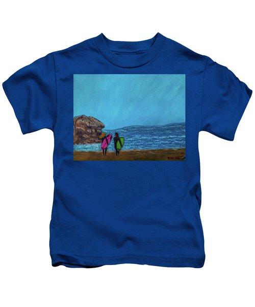 Surfer Girls Kids T-Shirt