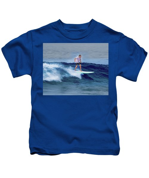 Surfing Andy Kids T-Shirt