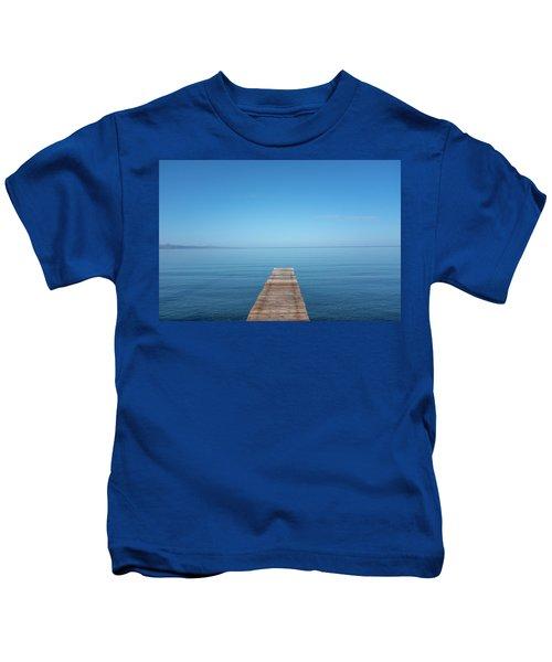 The Big Deep Blue Kids T-Shirt