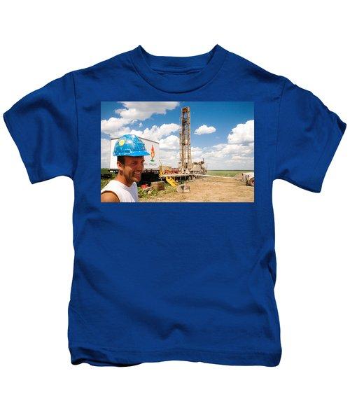 The Gas Man Kids T-Shirt