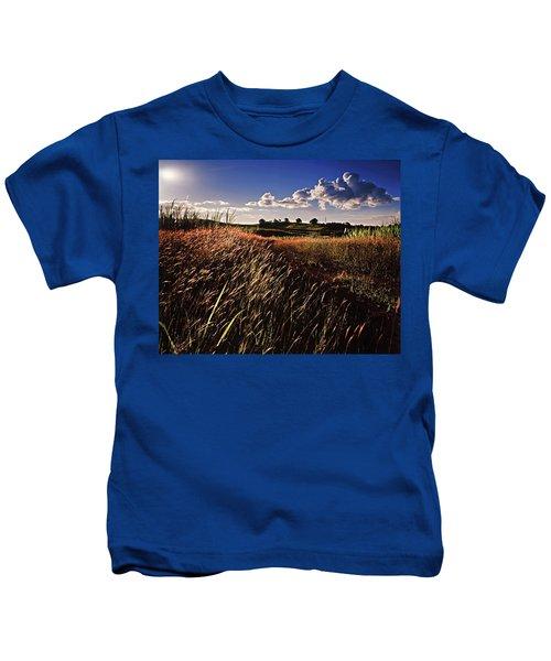 The Last Grassy Field, Trinidad Kids T-Shirt