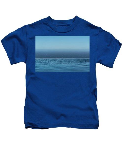 Three Layers Of Blue Kids T-Shirt
