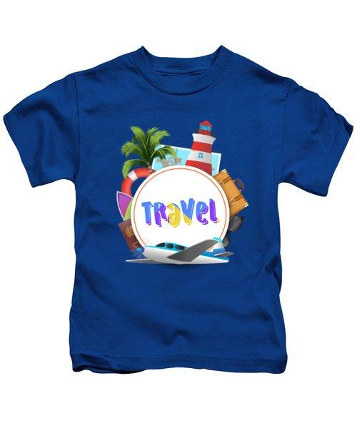 Travel World Kids T-Shirt