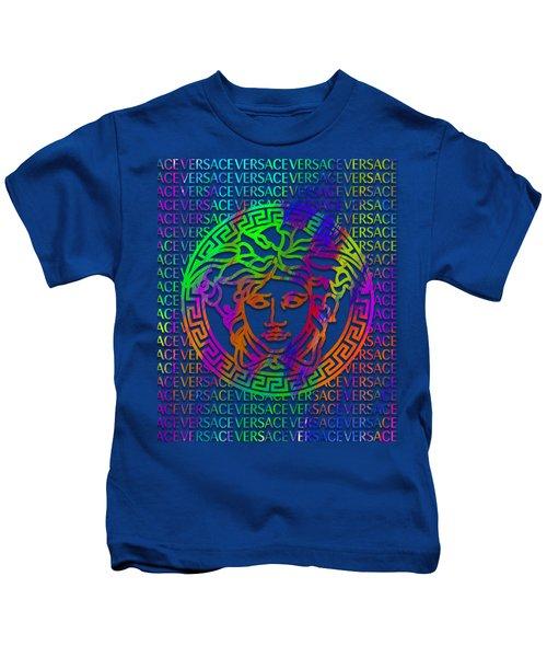 Versace Paint Pattern Design Kids T-Shirt