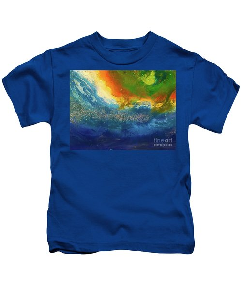 View From Space Kids T-Shirt