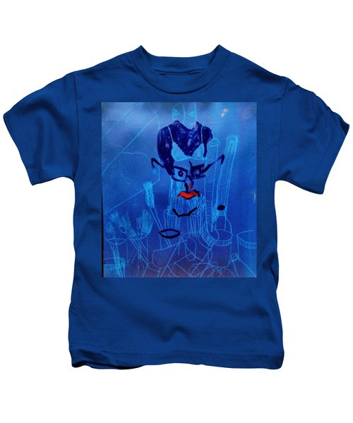 When His Face Is Blue For You Kids T-Shirt