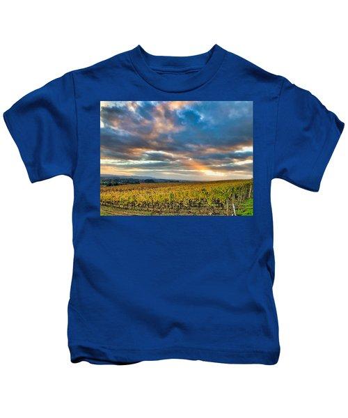 Willamette Valley In Fall Kids T-Shirt