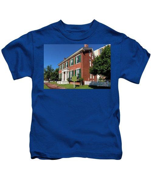 Woodrow Wilson Boyhood Home - Augusta Ga 2 Kids T-Shirt