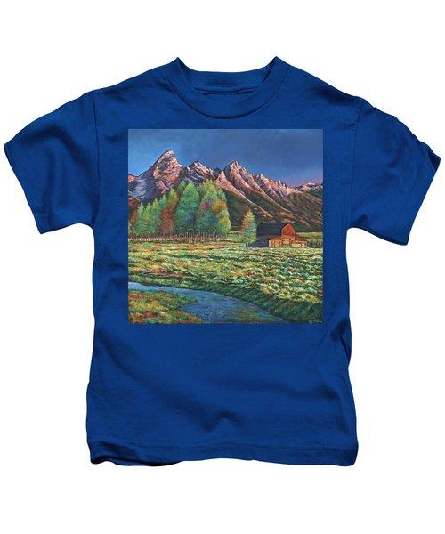 Wyoming Kids T-Shirt