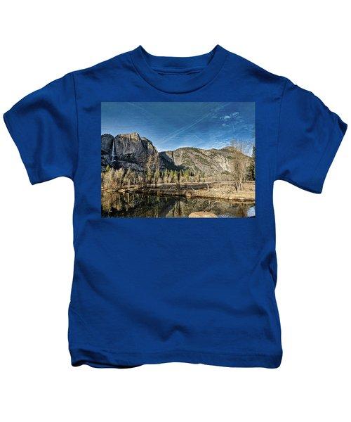 Yosemite Reflection Kids T-Shirt