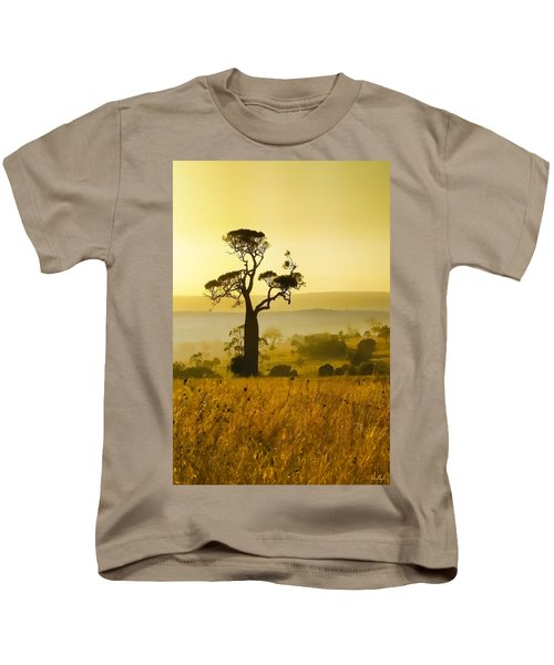 A Boab Sunrise Kids T-Shirt