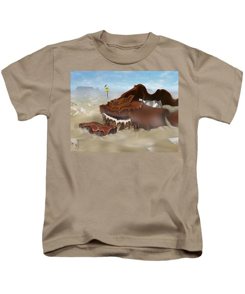A Slow Death In Piano Valley - Panoramic Kids T-Shirt