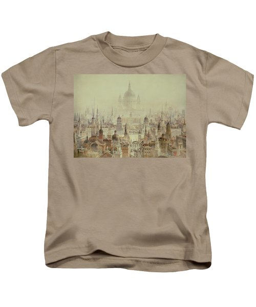 A Tribute To Sir Christopher Wren Kids T-Shirt