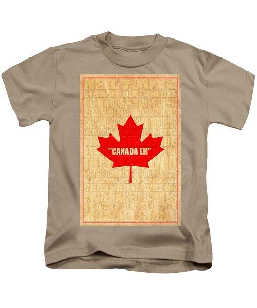 Canada Music 1 Kids T-Shirt
