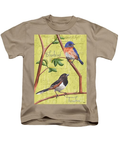 Citron Songbirds 1 Kids T-Shirt