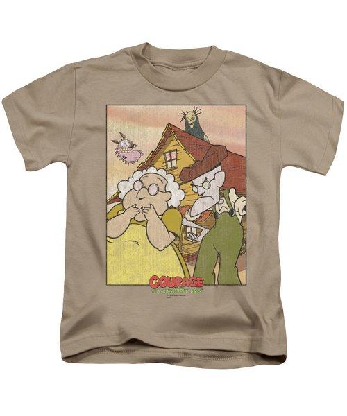 Courage - Gothic Courage Kids T-Shirt