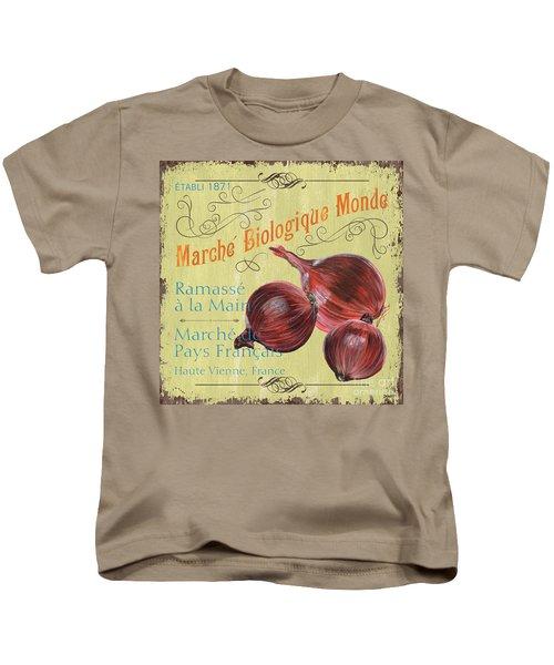 French Market Sign 4 Kids T-Shirt by Debbie DeWitt