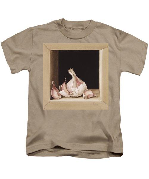 Garlic Kids T-Shirt by Jenny Barron