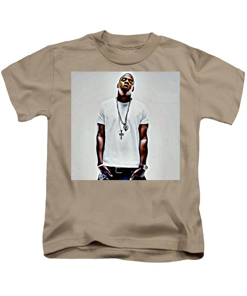 Jay-z Portrait Kids T-Shirt
