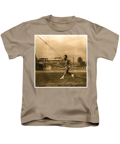 My #hero, George Porter, 1968 Kids T-Shirt