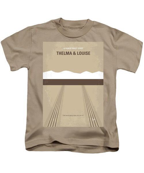 No189 My Thelma And Louise Minimal Movie Poster Kids T-Shirt