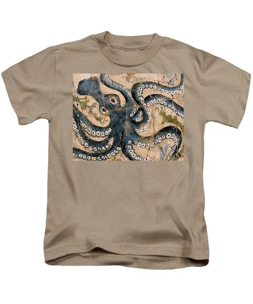 Octopus - Study No. 1 Kids T-Shirt